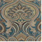 Jaclyn Turquoise Paisley Floral Upholsery Fabric - Order a Swatch