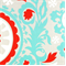 Suzani Harmony/Red Twill by Premier Prints - Drapery Fabric - Order a Swatch