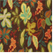 Almondell Terrace Dark Chocolate Floral Drapery Fabric by Swavelle Mill Creek - Order a Swatch