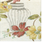 Cassia Ivory Floral Drapery Fabric - Order a Swatch