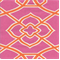 Malibar Hot Pink Contemporary Geometric Drapery Fabric - Order a Swatch