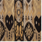 Linda Onyx  Ikat Stripe Upholstery Fabric - Order a Swatch