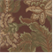 Fall Brown Floral Upholstery Fabric - Order-a-swatch