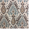 Fez Chalcedony Polyester Velvet Ikat Upholstery Fabric by Braemore - Order-a-swatch