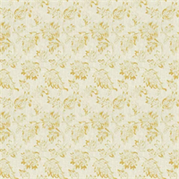 02600 Floral Lemon Zest Drapery Fabric - Order-a-swatch