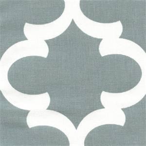 Fynn Cool Grey White Drapery Fabric by Premier Prints 30 Yard bolt