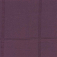 Squares Eggplant Faux Silk Drapery Fabric - Order-a-swatch