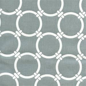 Linked Cool Grey Macon Cotton Geometric Print by Premier Prints 30 Yard bolt