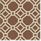 Alroy Sussex Cocoa Geometric Cotton Drapery Fabric by Swavelle Mill Creek   - Order a Swatch