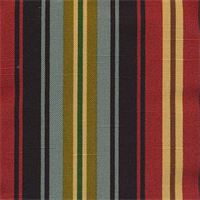 Dillahan Brompton Amazon Cotton Stripe Drapery Fabric by Swavelle Mill Creek  - Order a Swatch