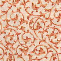 Blair Coral Floral Vine Drapery Fabric by Swavelle - Order a Swatch