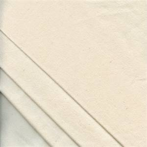 Heavy Flannel Natural Interlining by Hanes - 20 Yard Bolt