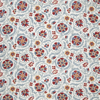 Floral Medallion 70384-RF Punch Drapery Fabric by Richtex Home - Order a Swatch