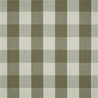Reagan 619 Truffle Check Drapery Fabric - Order a Swatch