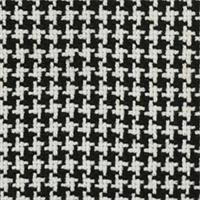 Osana Ebony Houndstooth Upholstery Fabric  - Order-a-swatch