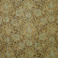 Sariz Saddle Tan Washed Look Printed Floral Velvet Upholstery Fabric by P. Kaufmann Order a Swatch