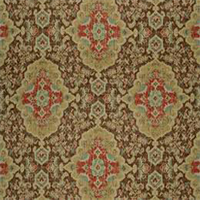 Jaipur 389 Moroccan Red Ikat Print Drapery Fabric