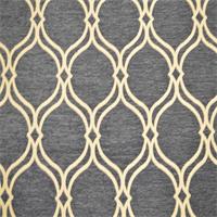 Maderia 56 Mariner Blue Woven Geometric Upholstery Fabric