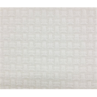 Interlace Salt Off White Chenille Large Basketweave Look Upholstery Fabric Order a Swatch
