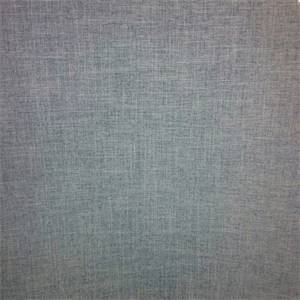 Vision Gunmetal Grey Linen Look Solid Drapery Fabric