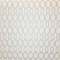 Bourse Marble Ivory Embroidered Geometric Drapery Fabric Order a Swatch