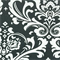 Ozborne Charcoal Grey Slub Floral Drapery Fabric by Premier Prints Order a Swatch