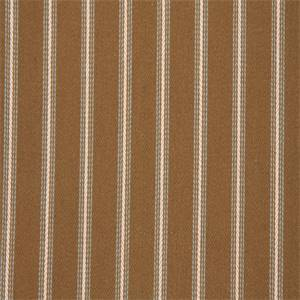 Westend Fatigue Brown Striped Cotton Upholstery Fabric by Swavelle Mill Creek