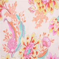 Divers Paradise Mimosa Pink Aquatic Drapery Fabric