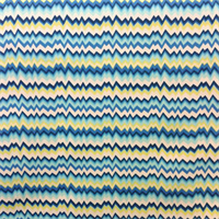 OD Vibe Navy Uneven Zig Zag Horizontal Stripe Indoor/Outdoor fabric
