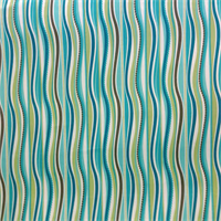 OD Wavy Peacock Blue Green Vertical Wavy Stripe Indoor/Outdoor fabric