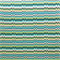 OD Vibe Peacock Blue Uneven Zig Zag Horizontal Stripe Fabric Order a Swatch