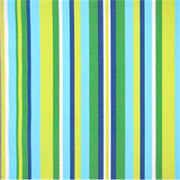 OD Ombre Azure Blue Indoor/Outdoor Vertical Stripe Fabric
