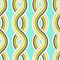 OD Serpentine Misty Mint Green Vertical Striped Ovals Indoor/Outdoor Fabric Order a Swatch