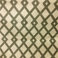 Geometric Gray Cotton Drapery Fabric Order a Swatch