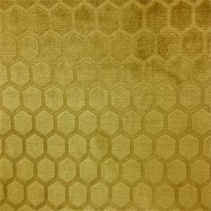 Symmetry Camel Gold Geometric Chenille Upholstery Fabric
