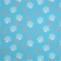 Isadella Ocean Blue Indoor Outdoor Fabric by Premier Prints