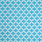 Fynn Ocean Blue and White Geometric Indoor Outdoor Fabric by Premier Prints Order a Swatch