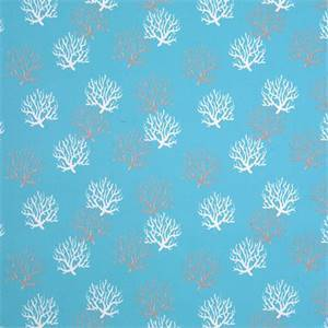 Isdella Ocean Blue Indoor Outdoor Fabric by Premier Prints 30 Yard Bolt