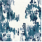 Flow Iceberg Ikat Embroidered Linen Blend Drapery Fabric Order a Swatch