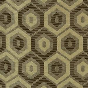 Starstruck Alabaster Brown Woven Geometric Upholstery Fabric by P Kaufmann