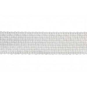 BR7400 Color 27 White Woven Tape Trim