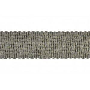 BR7402 Color 11 Taupe Grey Woven Tape Trim