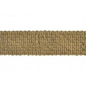 BR7402 Color 11 Tan Woven Tape Trim
