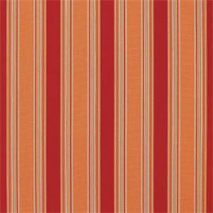 Bravada Salsa Red 5601-0000 Stripe Outdoor Fabric by Sunbrella