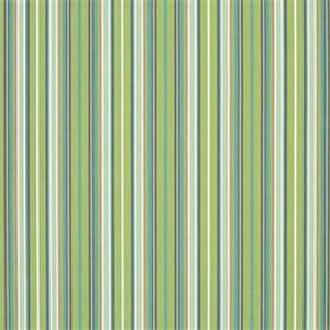 Foster Surfside Green 56049-0000 Stripe Outdoor Fabric by Sunbrella