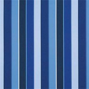 Milano Cobalt Blue 56080-0000 Stripe Outdoor Fabric by Sunbrella