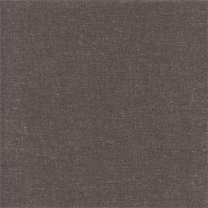 Linden Gun Metal Gray Linen Look Drapery Fabric