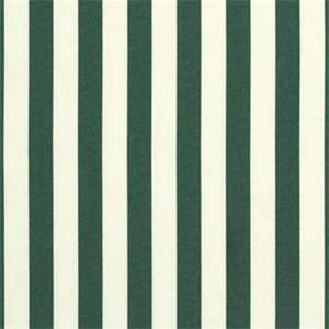 Mason Forest Green 5630-0000 Stripe Outdoor Fabric by Sunbrella