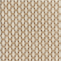 Carabose Creme Brule Tan Basketweave Upholstery Fabric by Duralee