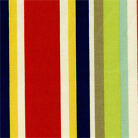 Cameron Stripe Mardi Gras Multi Stripe Cotton Drapery Fabric Order a Swatch